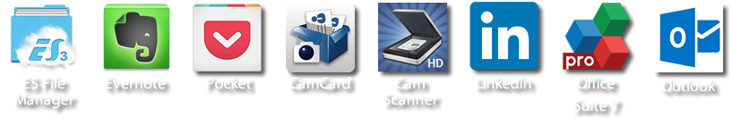 es file manager evernote pocket camcard cam scanner linked in office suite 7 outlook